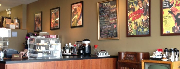 Hardboiled Coffee Company is one of Chicago coffee shops.