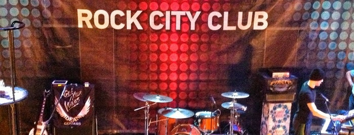Rock City is one of concert venues 2 live music.