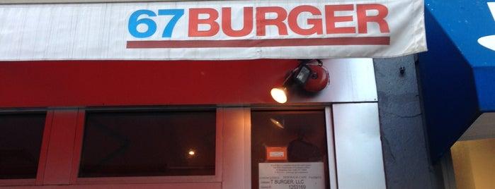 67 Burger is one of Restaurants.
