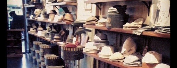 Goorin Bros. Hat Shop - Larchmont is one of LA Top Shops.