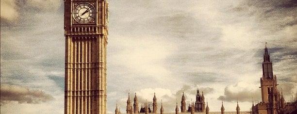 Elizabeth Tower (Big Ben) is one of London, Greater London UK.