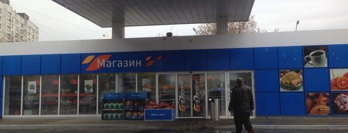 Газпромнефть АЗС № 106 is one of Lyubov : понравившиеся места.