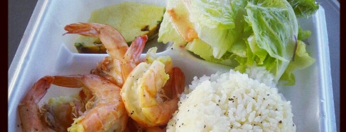 Macky's Shrimp Truck is one of Waikiki Food List.