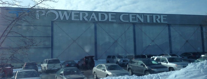 Powerade Centre is one of OHL Arenas.