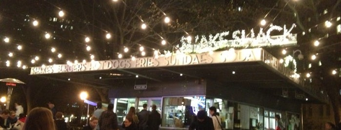 Shake Shack is one of The Essential NYU List.