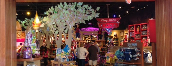 Disney Store is one of Favorite Places to visit!.
