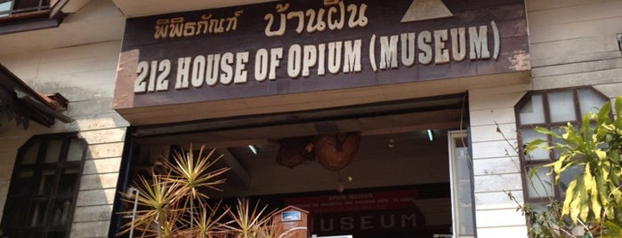 212 House of Opium (Museum) is one of Places in and near Chiang Mai.