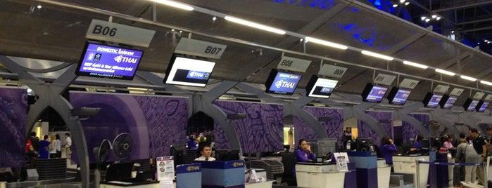 Thai Airways (TG) Check-in Area - Economy Class is one of Posti salvati di Pelin.