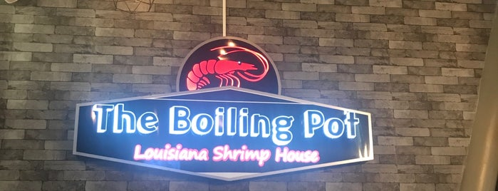 The Boiling Pot Lousiana Shrimp House is one of Lugares favoritos de Adriana.