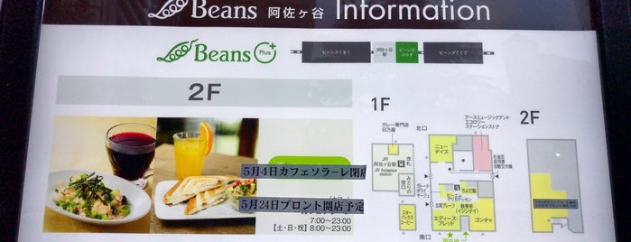 CAFFE SOLARE Beans 阿佐ヶ谷店 is one of 電源.