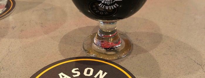 Mason Ale Works is one of Locais salvos de Paresh.