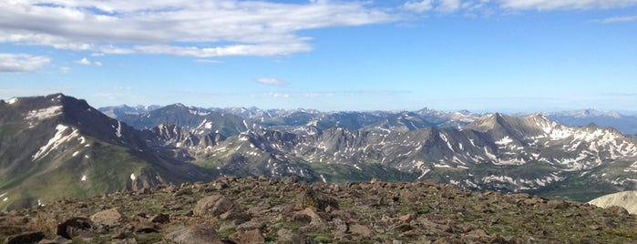 Mt Oxford is one of 14ers.