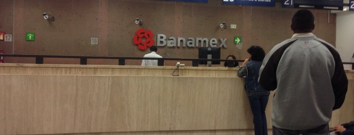 Citibanamex is one of Lieux qui ont plu à René.