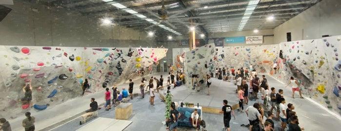 9 Degrees Boulder Gym is one of sydney.