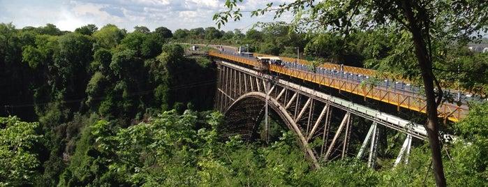 Victoria Falls Bridge is one of Lieux qui ont plu à Marguerite.