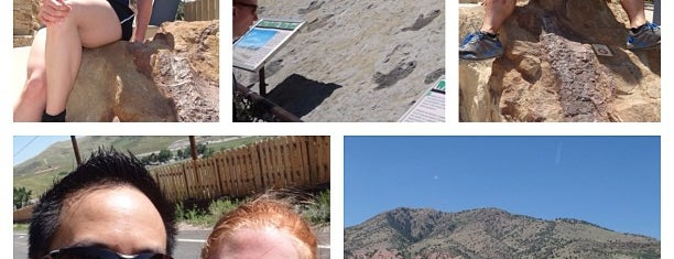 Dinosaur Ridge is one of Fun Things To Do in Denver, Colorado.
