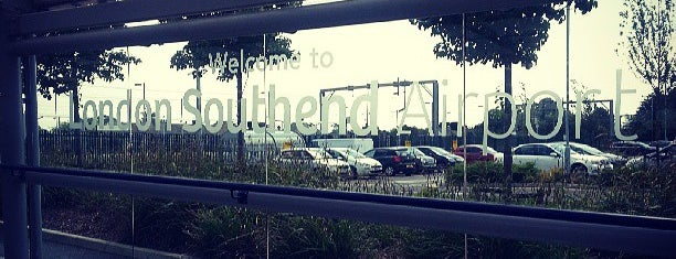 Southend Airport Railway Station (SIA) is one of England.