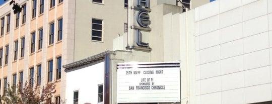 Christopher B. Smith Rafael Film Center is one of Posti che sono piaciuti a William.