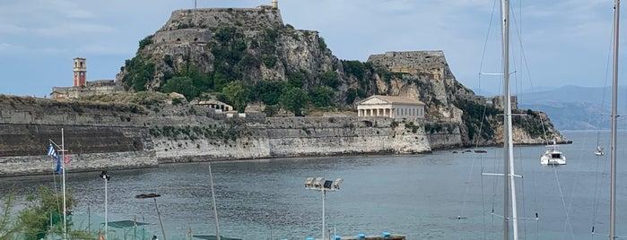 kapodistrian's monument is one of Corfu, Greece.