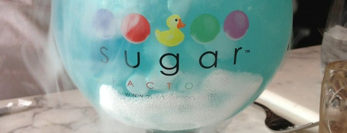 Sugar Factory is one of OUTTA TOWN.