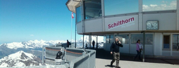 Schilthorn is one of Locais salvos de Anna.
