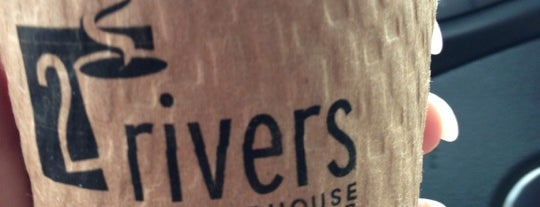 2 Rivers Coffee is one of Lugares favoritos de KATIE.