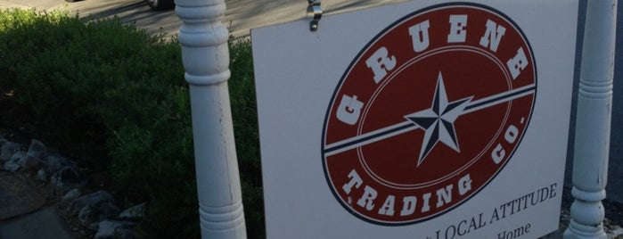 Gruene Trading Co. is one of Freaker USA Stores Southwest.