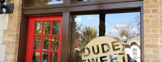 Dude, Sweet Chocolate is one of 2012 The Best of Big D Stops.