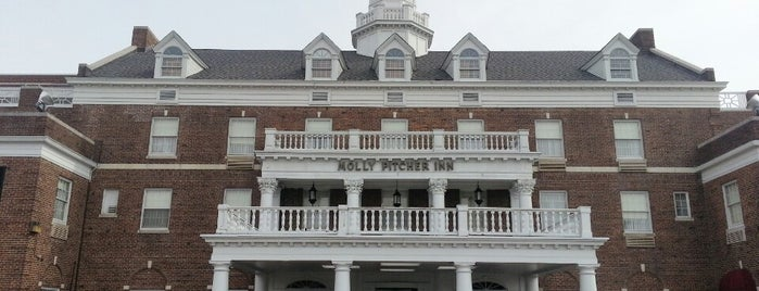 Molly Pitcher Inn is one of 20 Must Visit NJ Restaurants.
