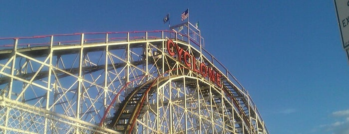 The Cyclone is one of New York City Tourists' Hits.
