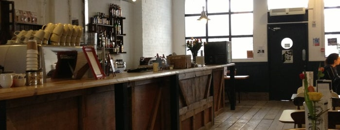 Matthews Yard is one of Specialty Coffee Shops Part 2 (London).