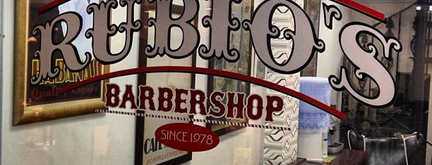 Rubio's Barbershop is one of Orte, die Rodrigo gefallen.