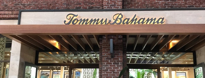 Tommy Bahama is one of Disney Springs.