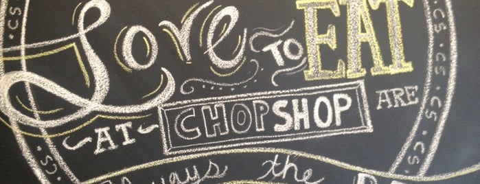 Original ChopShop is one of Cheap Eats - Scottsdale.