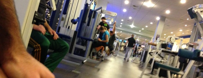 Fitness First is one of Tempat yang Disimpan Kathrin.