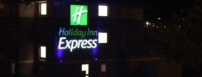 Holiday Inn Express Exeter M5, Jct. 29 is one of Orte, die Zarafatun gefallen.