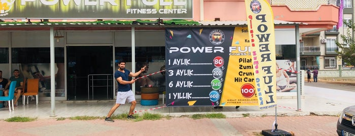 Powerfull Fitness Center is one of Tempat yang Disukai Tanyeli.