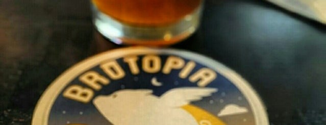 Brutopia Brewery & Kitchen is one of Rhode Island To Do.