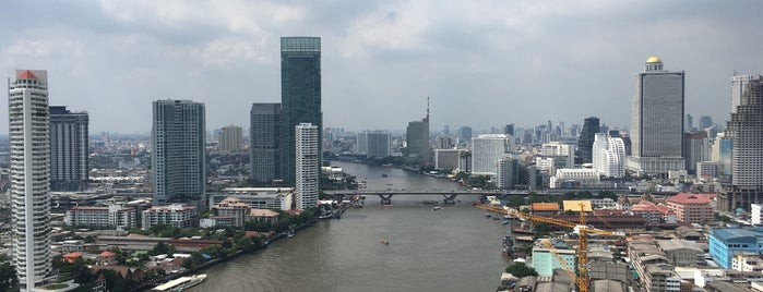 Chatrium Hotel Riverside Bangkok is one of Lugares favoritos de Maxim.