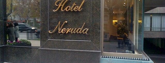 Hotel Neruda is one of Rodrigoさんのお気に入りスポット.