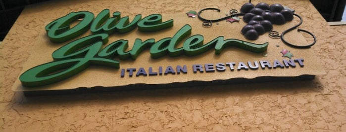 Olive Garden is one of My Food.