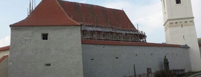 Biserica fortificată Dârjiu is one of UNESCO World Heritage Sites in Eastern Europe.