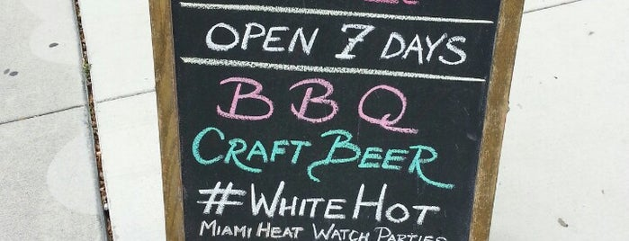 Craft Bar & Q is one of Great picks.