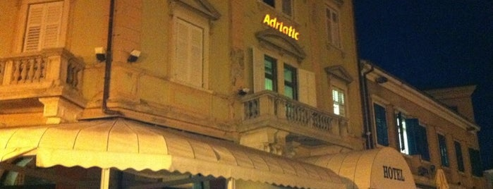 Adriatic Hotel Rovinj is one of Jelena 님이 좋아한 장소.