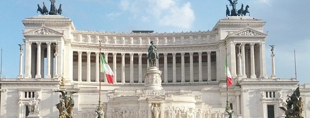 Piazza Venezia is one of ROME.