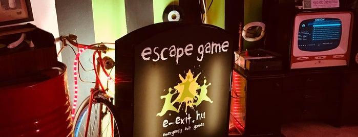 E-Exit Escape Room/Szabadulószoba is one of B.