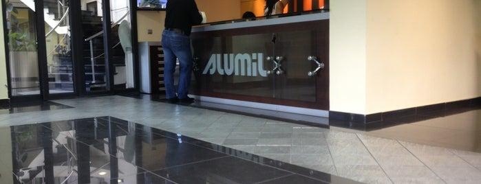 Alumil is one of Orte, die Evren gefallen.