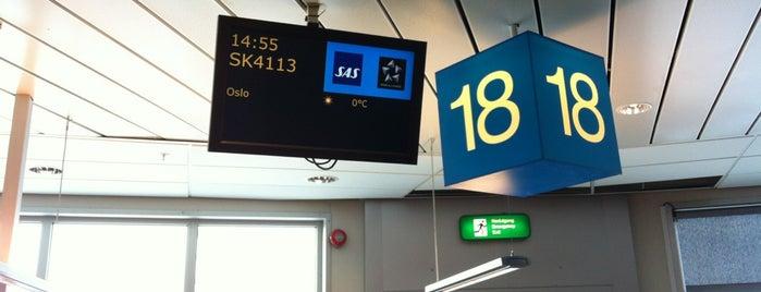 Gate 18 is one of Orte, die Yunus gefallen.
