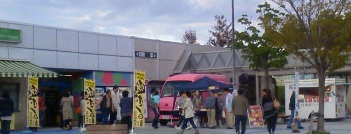 名立谷浜SA (下り) is one of สถานที่ที่ Shigeo ถูกใจ.