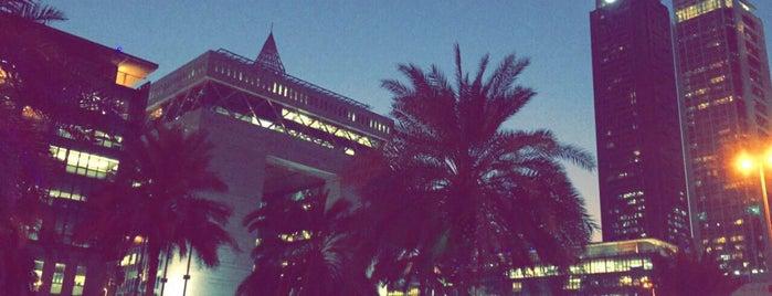 Dubai International Financial Center is one of Lugares favoritos de Feras.
